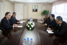 Tajik-Chinese joint gold mining venture top manager meets acting governor of Sughd to discuss cooperation