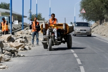 Stories of people in Tajikistan whose lives have changed after a road project
