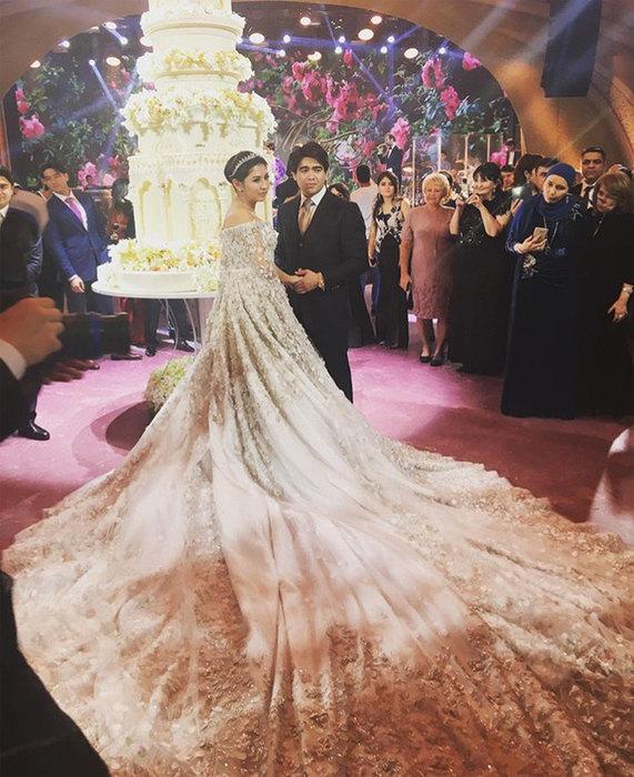 Таджикское свадебное платье фото