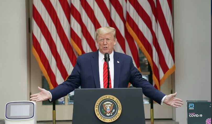 Трамп принимает гидроксихлорохин, чтобы незаразиться— Коронавирус