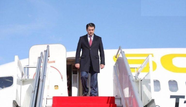 Рустам Эмомали уехал в Москву