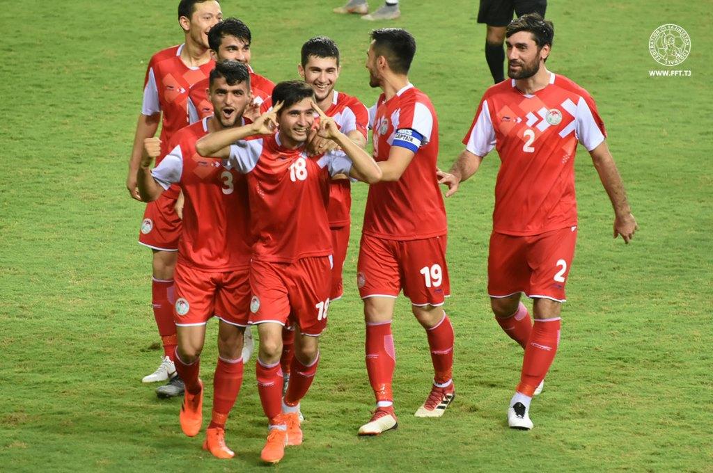 Таджикистан в рейтинге ФИФА поднялся на одну позицию