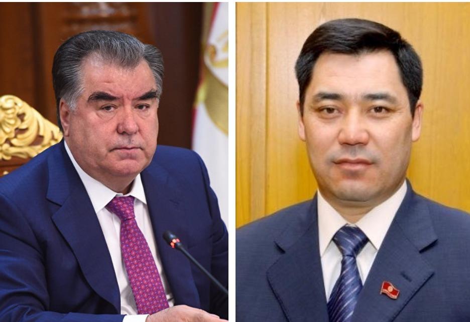 Эмомалӣ Раҳмон президенти тозинтихоби Қирғизистонро табрик кард