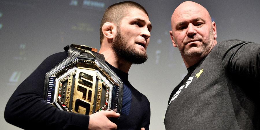 Президенти UFC гуфт эҳтимол Ҳабиб Нурмуҳаммадов ба рақобатҳо баргардад