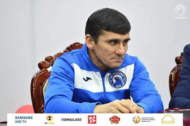 """Рустам Хоҷаев сармураббии нави тими """"Хуҷанд"""" шуд"""
