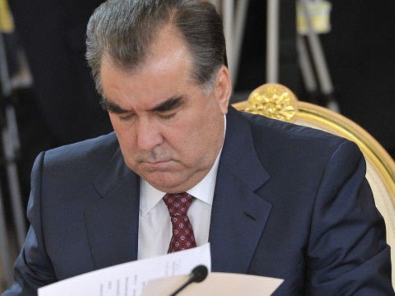 Эмомали Рахмон подписал ряд законов Таджикистана
