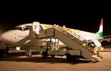 Новый Боинг «Сомон Эйр» совершил свой первый полет