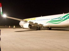 Second Somon Air's Boeing 737-900 arrives in Dushanbe