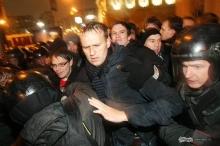 Акция оппозиции в Москве завершилась задержанием 300 человек