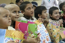 В Душанбе устроили праздник для детей с онкологическими заболеваниями