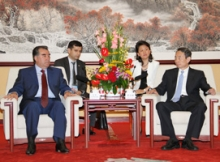 Chinese national oil and gas company to come to Tajikistan