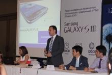 Tcell начал продажу Samsung Galaxy SIII в Таджикистане