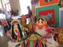 В Душанбе прошла зимняя ярмарка ремесел