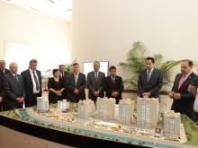 Qatari Diar представила макет жилого комплекса мирового класса «Диар Душанбе»