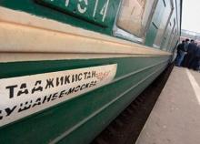 Прибытие пострадавшего поезда Москва-Душанбе (видео)