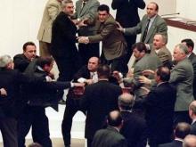 Турецкие депутаты подрались из-за законопроекта о коррупции
