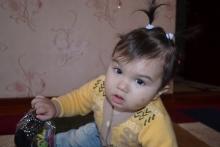 Восьмимиллионной жительнице Таджикистана исполнился год