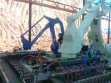 В Таджикистане заработало первое роботизированное кирпичное предприятие