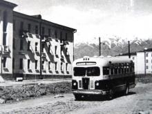 Душанбе: история в фотографиях - Душанбинский автобус