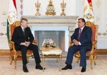 Tajik president, CSTO secretary-general discuss cooperation issues