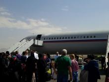 Первые таджикистанцы вернулись домой из Йемена