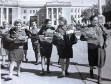 Душанбе и душанбинцы 50 – х годов. Душанбинская рапсодия.