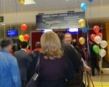 Новый рейс «Сомон Эйр» в Бишкек особенно радует предпринимателей