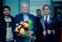 Брайан Трейси прибыл в Душанбе!