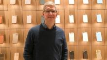 Глава Apple считает ослабление рубля причиной снижения выручки компании