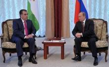 Путин и Рахмон обсудят пребывание в Таджикистане 201-й российской базы