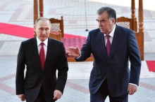 Лидеры Таджикистана и России сделали совместное заявление