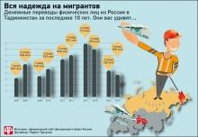 Как поддерживают Таджикистан мигранты