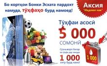 Покупай и выигрывай вместе с Банком Эсхата!
