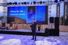Samsung presents its two new Android smartphones in Dushanbe