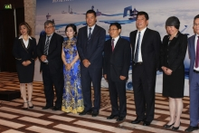 Chinese air company holds presentation in Dushanbe