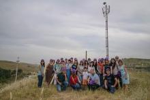 Участники Press-Сlub Tojikiston посетили базовые станции Tcell в Шахринаве и Шамбари