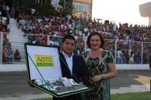 Компания «ЛОТО СПОРТ» вручила 150 000 сомони жителю Исфары