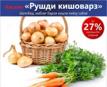 «Банк Эсхата» снизил проценты в рамках акции «Рушди кишоварз»