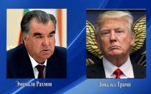 Эмомали Рахмон выразил соболезнование Дональду Трампу по погибшим в Лас-Вегасе