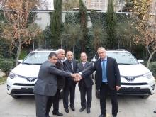 JICA передает автомобили для усиления управления водоснабжением в Хатлоне