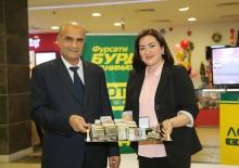 Врач района Рудаки выиграл в лотерею 150 000 сомони