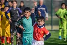 При поддержке Tcell более 10 000 детей Таджикистана играют в Лиге дворового футбола
