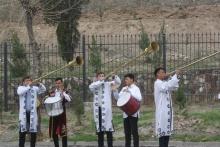 Как в Турсунзаде встречали главу Сурхандарьи