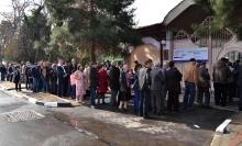 Выборы в Душанбе: Очередь не кончается