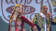 Давлатманд Холов спел для москвичей. Как Навруз отметили в Москве