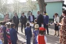 «Самсунг» и «Кухистон» восстановили детсад и амбулаторию в районе Рудаки