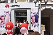 Ифтитоҳи мағозаи фирмавии ширкати Huawei дар Душанбе
