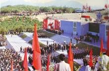 Как строился мемориал «Родина-мать» в парке Победы