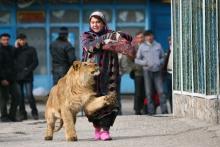 Шери нар: как таджичка приручила диких животных?