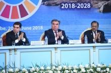 «Водная» конференция в Душанбе в лицах